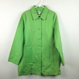 GAP Green Spring Jacket Size XL
